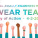 Wear Teal For A Day of Action
