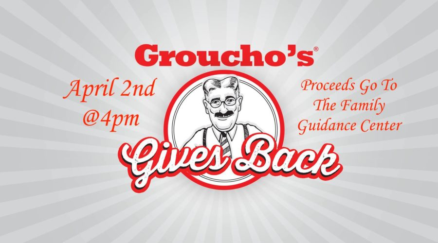 Groucho's Gives Back